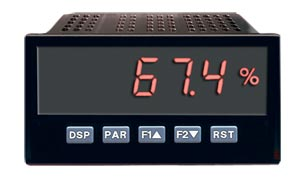 1/8 DIN Digital Panel Meters For DC Voltage and Current Inputs | DP63600-DC