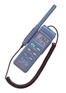 Temperature and humidity meter & logger | HH314A