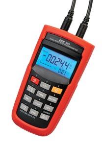 Thermomètre de Précision, Double Entrées RTD,  Interface USB ou Sans Fils (selon modèle) | HH804