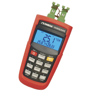 Termokoblertermometer & Datalogger med USB/trådløs interface | HH806
