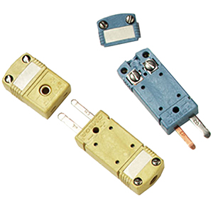 High Temperature Miniature TC Connectors- Male Connector Features Zinc Ferrite Core for EMI/RFI Suppression | HMPW-(*) and HFMPW-(*)