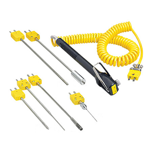 Quick Connect Surface Thermocouple Probes with Miniature Connectors, Retractable Cable and Utility Handle | HYP5, SMP-NP, SMP-RT, SMP-AP, SMP-HT and 88000-RSC