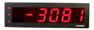 afficheur led grand format pour entrées de température et signaux de procédé | LDP63100