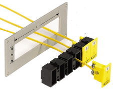 Snap Strips for Mounting Miniature MPJ Panel Jacks | MSS Series