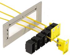 Snapbånd til montering af MPJ-miniaturepanelstik | MSS Series
