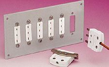 Jack Panels for  Mini 3-Prong Connectors | MTP Jack Panel Series