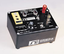 Thermocouple D.C. Millivolt Amplifier, Battery-Operated Laboratory with Built-in Ice Point Reference Junction for Cold Junction Compensation   OMNI-AMP IIB
