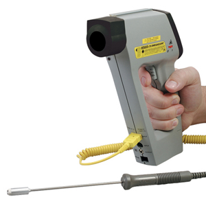 OMEGASCOPE™ High Quality Handheld Infrared Thermometer Series. Analogue and RS232 Outputs Available on Some Models