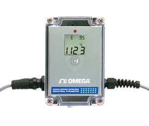 Thermomètre/transmetteur de température infrarouge | Série OS555A