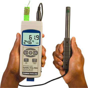 Temperature / humidity meter and logger | RHXL3SD