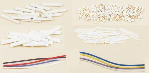 Ceramic Beads, PFA and Fiberglass Sleeving | SH, DH, OV, FS, FBGS, TF Series