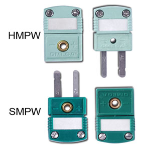 Mini thermocouple connectors | SMPW and HMPW