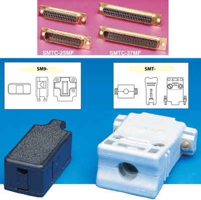 SMTC Series thermocouple Connector Bodies and Backshells