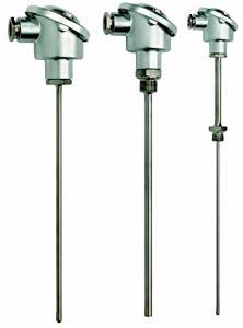 Pt100 & Termokoblerenheder med DIN B-hoved, til industri | B-P, B-J, B-K, B-T, B-N Series