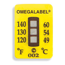 Non-Reversible OMEGALABEL™ Temperature Labels TL-3 Range Series | TL-3