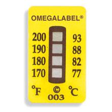 Ikke-reversible OMEGALABEL™ temperaturlabels TL-4 Range-serien | TL-4