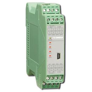Temperaturtransmitter med dobbelt DIN-skinne | TXDIN70