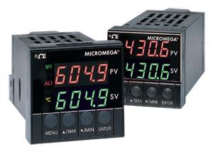Controladores PID de Temperatura/Processo MICROMEGA® para Montagem 1/16 DIN com Sintonia Automática | CN77000 Series