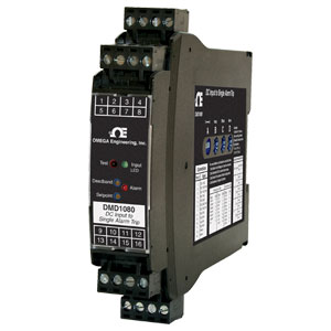 ALARM MODULE - DC INPUT TO SINGLE ALARM  ISOLATED, FIELD CONFIGURABLE, DIN RAIL | DMD1080 Series