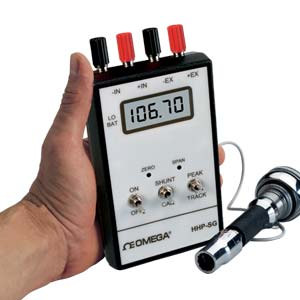 Handheld Transducer Indicators with Excitation for Millivolt Transducers | HHP-SG