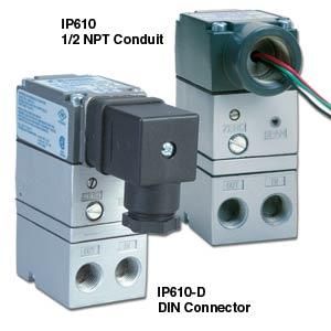Controle Eletrônico I/P de Pressão de Ar | Série IP610