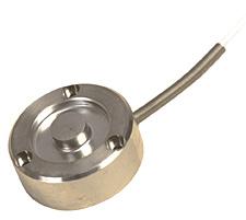 Célula de Carga em Miniatura para Aplicações de Compressão com Furos de Montagem | LCGB?Series