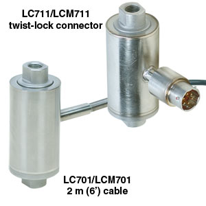 Low-Capacity Tension Link Load Cells | LCM701/LCM711 Series