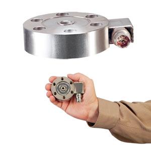Células de Carga Tipo Panqueca de Baixo PerfilMétrico, ±2.5 kgF a ±10,000 kgF | Série LCHD/LCMHD