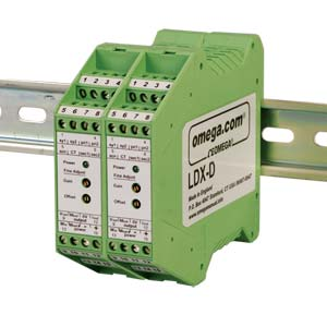 Din Rail Mount Signal Conditioner for AC LVDTs | LDX-D