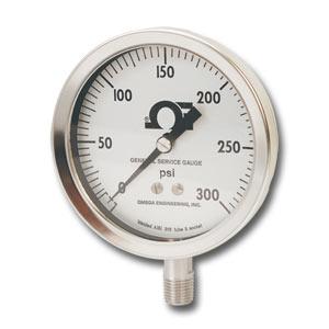 Manômetros OMEGA™ de Uso Geral -  Tipo S | Série PGS
