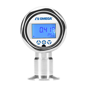 Sanitary Pressure Transmitter with Display, Industrial, Rangeable | PX3005K