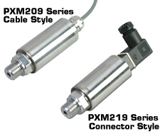 Metric Pressure Transducer | PXM209 and PXM219 Metric Series
