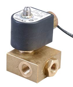 3-Way and 4-Way Solenoid Valves Direct-Acting or Pilot-Operated, Normally Open or Closed, Brass Valve Body | SV240, SV250, SV260 and SV270 Series