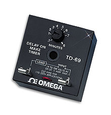 Low Cost Adjustable Solid State Timer, Delay-on-Make, Delay-on-Break | TD-69