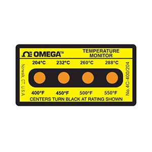 Non-Reversible Temperature Label | 4A-(*),4B-(*) and 4C-(*)