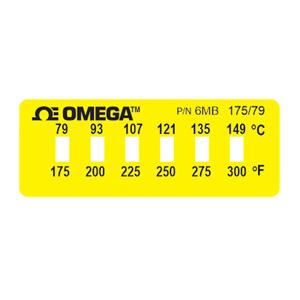 Etiquetas OMEGALABEL®, Não-Reversíveis, para Monitoramento de Temperatura |