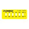 Etiquetas OMEGALABEL&reg, Não-Reversíveis, para Monitorament