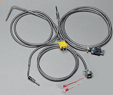 Thermocouples for Extruders - Compression Style with Stainless Steel Cable, models CF-00(*) and CF-090-(*) | CF Series