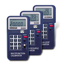 Handheld Calibrators | CL123 CL125 and CL100MA