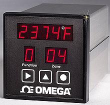 Monitor de Temperatura de 6 ou 12 Canais com Alarme e Comunicação Padrão para Montagem 1/4 DIN | Série CN606