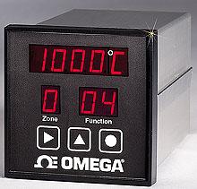 Controladores de Temperatura de 6-Faixas para Montagem 1/4 DIN com Comunicação RS-232 e Software de Configuração Gratuito | Série CN616