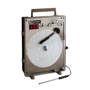 Registrador de Temperatura com Gráfico Circular e Entrada para Termopar Tipo J | Série CT87