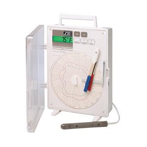 Registrador de Gráfico Circular de Temperatura, Umidade e Ponto de Orvalho | Série CTH89