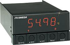 Medidor/Controlador de Precisão para Termistor ⅛ DIN | Série DP25-TH