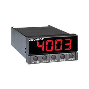 Medidor de Termopar e Pt-100 com Display Grande de Cores Selecionáveis para Montagem 1/8 DIN | Série DP25B