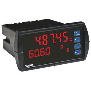 1/8 DIN Dual Input Process Panel Meter | DP6060 Series