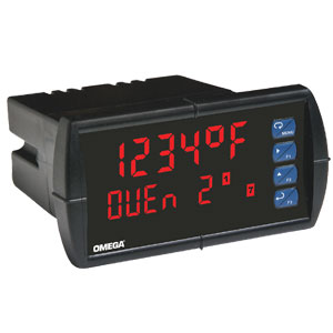 1/8 DIN Temperature Panel Meter | DP6070 Series