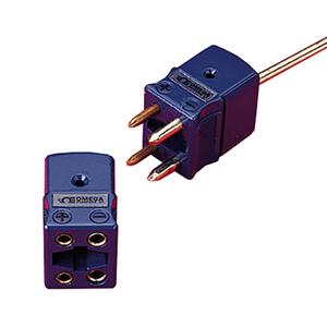Conectores Padrão de  4 Pinos com Circuito DuploNylon Preenchido com Vidro para Nível de -29 a 180 C (-20 a 356 F) | Conector fêmea DTC-K-F