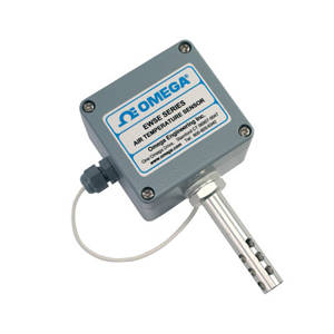 Air Temperature Sensor with sheathed RTD probe for Indoor and Outdoor Use | EWSE Series