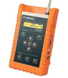Handheld Fiber Optic Temperature Meter | FOH201
